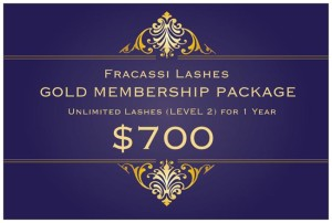 Fracassi Lashes Year Round Packages!!!